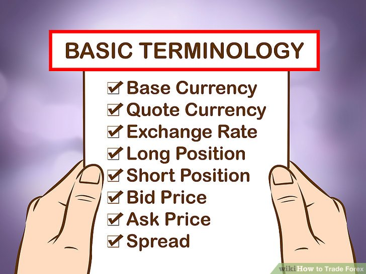 Most common terms or words used in Forex or Crypto Exchange